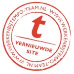 Tempo-Team stempel - Vernieuwde site - www.WerkenbijTempo-Team.nl