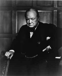 Quote: Courage is what it takes to stand up and speak; courage is also what it takes to sit down and listen. -- by Winston Churchill